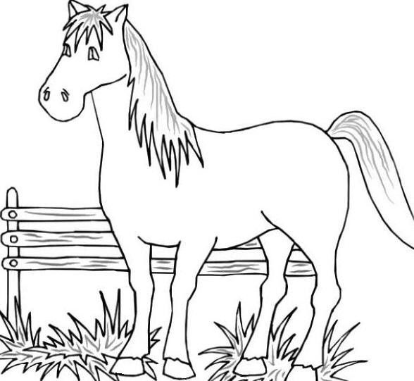 Printable Coloring Pages Of Farm Animals Farm Animal Coloring