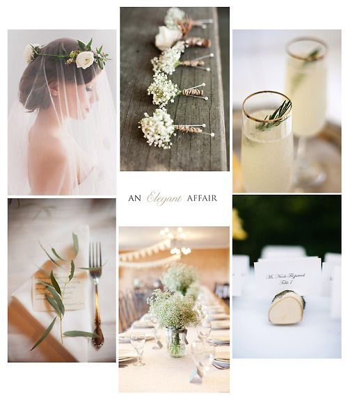 simple & elegant wedding
