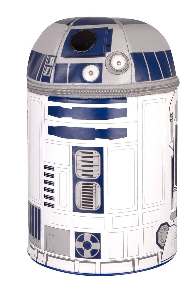 Star Wars R2D2 Thermos Lunch Bag Pvc Free School Lunch Box Temperature Container #LunchContainer