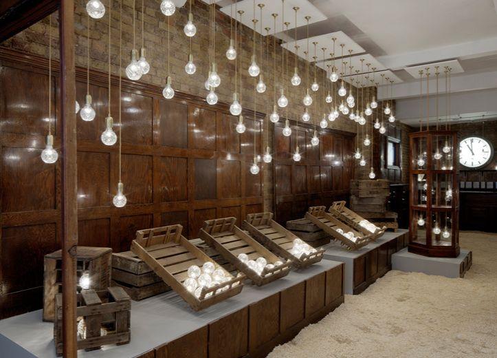 Crystal Bulb Shop - London | #LeeBroom