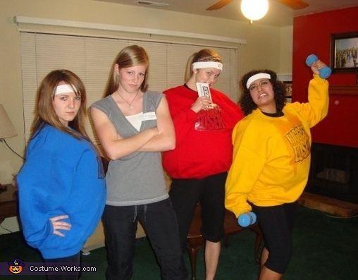 biggest loser and jillian michaels 2013 halloween costume contest - Great Group Halloween Costume Ideas