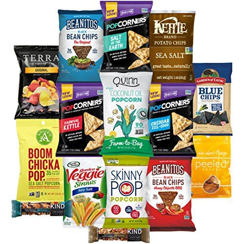 Premium NON GMO  Gluten Free Gourmet Healthy Snacks Gift Box Care Package Variety Pack 15 Count by Variety Fun *** Continue to the product at the image link.Note:It is affiliate link to Amazon.