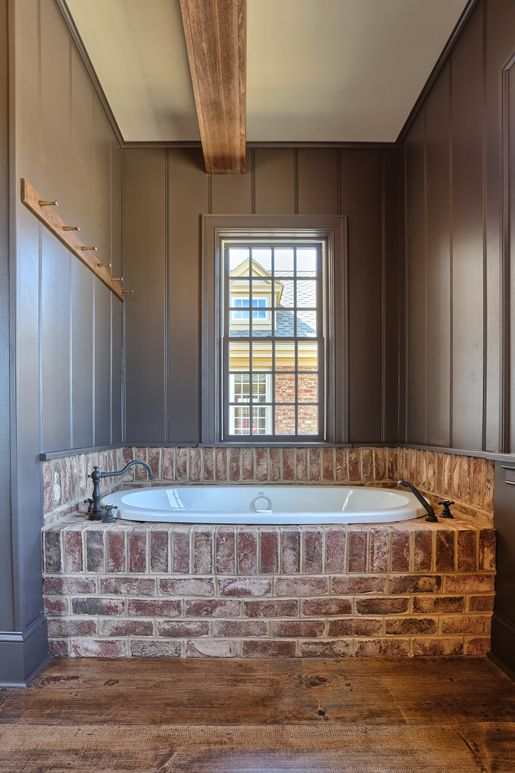 Best 25+ Brick Bathroom Ideas Only On Pinterest | Brick Veneer Wall, Accent  Walls And Brick Accent Walls