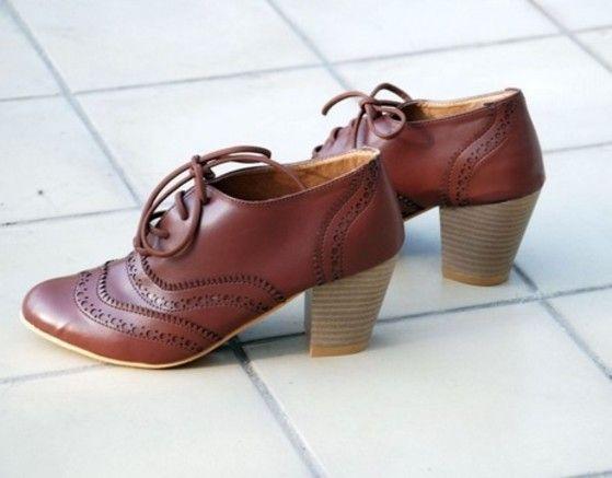 Shopo.in : Buy Her Majesty Brown Heels online at best price in New Delhi, India