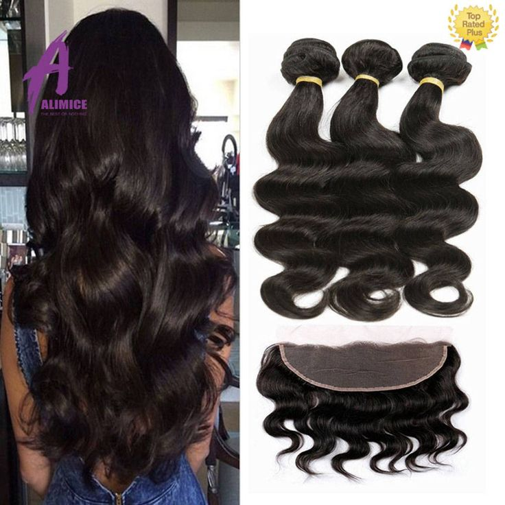 awesome Peruvian Virgin Hair Extensions Physique Wave Lace Frontal Closure with three bundles Check more at https://aeoffers.com/product/beauty/peruvian-virgin-hair-extensions-physique-wave-lace-frontal-closure-with-three-bundles/