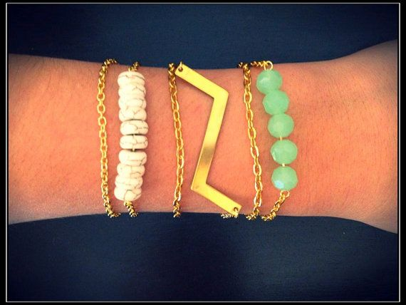 The Neptune Bracelet Trio. So cute!