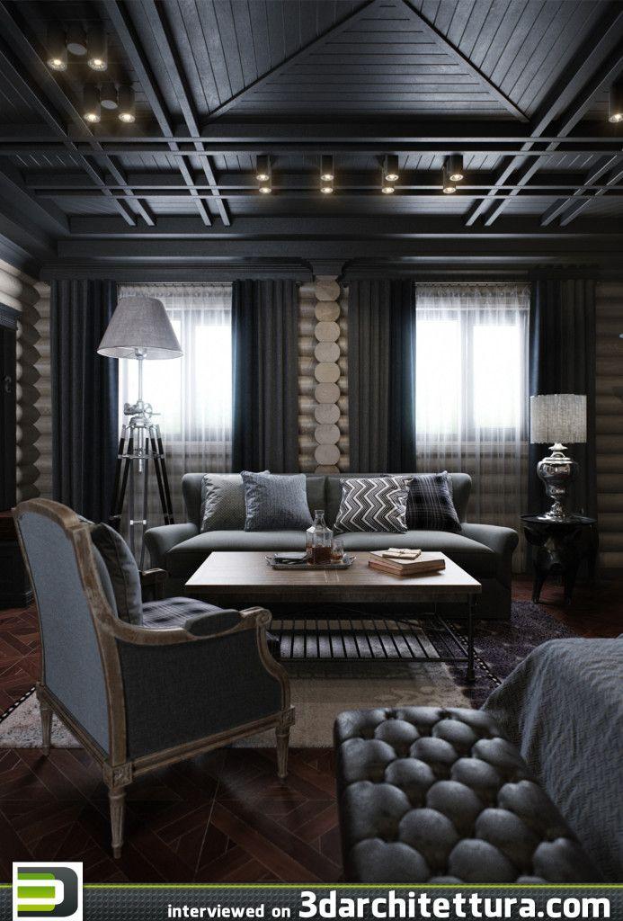 Vladimir Bolotkin, render, 3d, interior, 3darchitettura  www.3darchitettura.com/