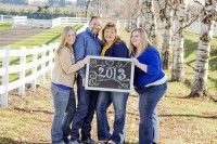 family family of four Portland Family Portrait Photographer ~ Lepire Family » the red barn photography