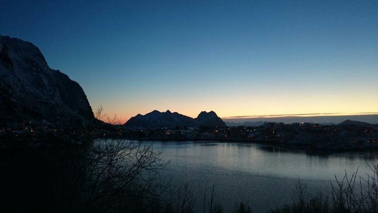 Beautiful view in Lofoten.