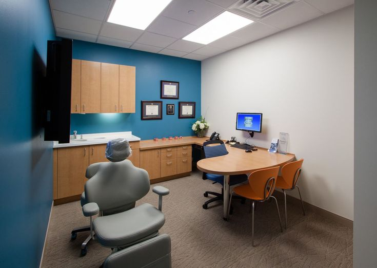 Consultation  Exam room in orthodontic office  Scott