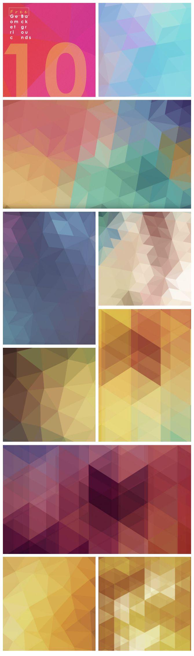 Free #Geometric #Backgrounds | Designed by http://83oranges.com/free-geometric-backgrounds/?utm_content=bufferd85b0&utm_medium=social&utm_source=pinterest.com&utm_campaign=buffer