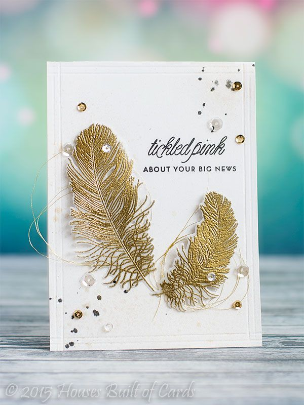 Houses Built of Cards: Gold Feathers - PTI Anniversary Challenge