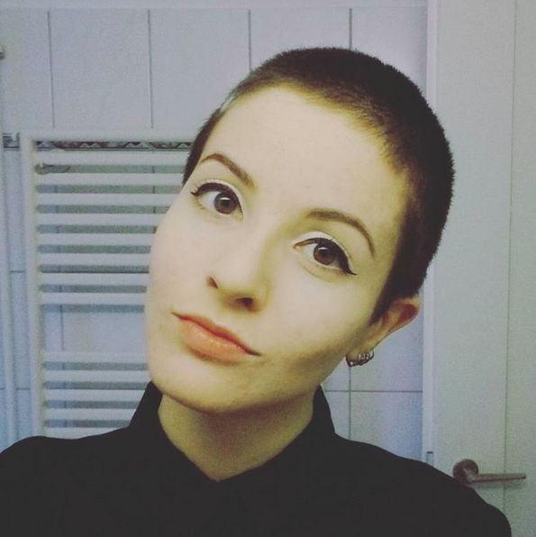 """It's impossible to look feminine with a buzzcut."" 