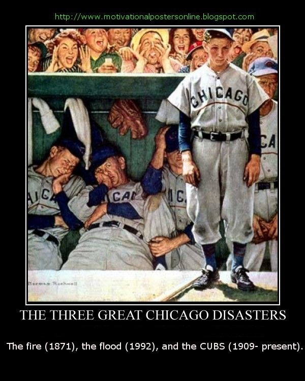 chicago cubs funny the three great chicago disasters the