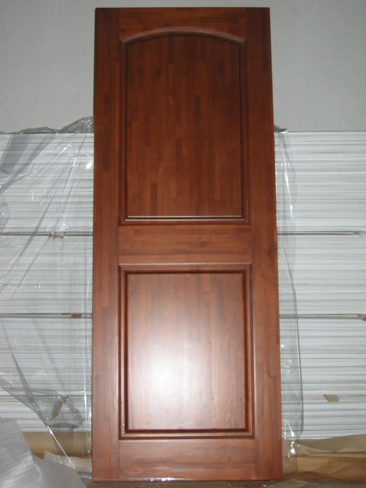 Solid Wood Interior Doors Panel Finger Joint Solid Wood