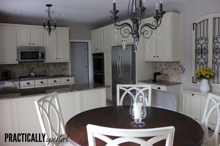 Painting Oak Kitchen Cabinets White Impressive Inspiration