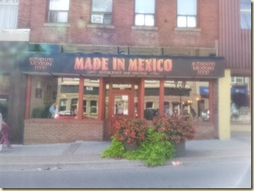 Real deal Mexican has come to Newmarket @MadeinMexico1. Look for it on You Gotta Eat Here #fb