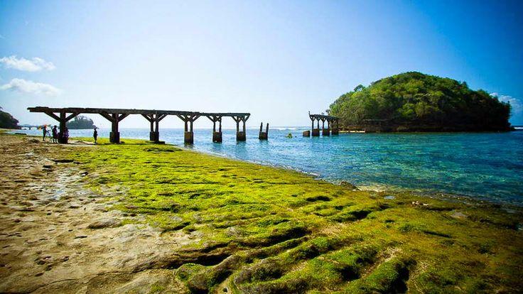 Charm of Beach Balekambang Malang - Simarsayang