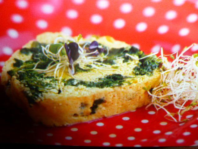 ricette con ricotta fresca - rotolo con spinaci