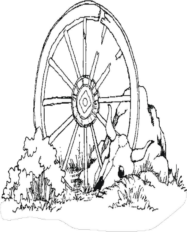 Wagon Wheel Coloring Pages Free Coloring Pages Coloring Pages For Kids
