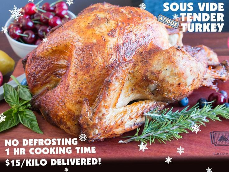 No basting, 1 hour to cook the perfect turkey with a Frugal discount too. Delivered to your door. More on the blog: http://bit.ly/1Y3Wujl