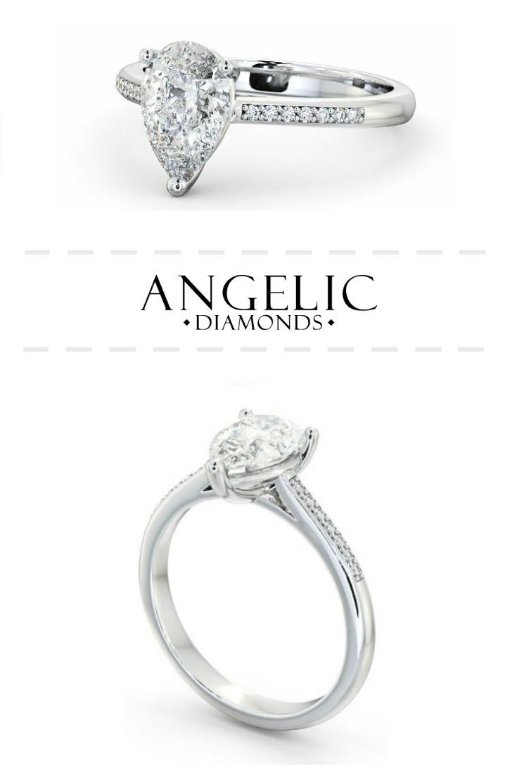 This oval engagement ring features a stunning oval shaped diamond in the centre, with 2 channels of round shaped diamonds running down either side of a white gold band. Customise your perfect engagement ring today with #AngelicDiamonds. #Wedding #Engagement #Engaged #EngagementRing #Diamond #Diamonds #WhiteGold #Ring #Jewellery #Jewellery #DiamondJewellery #DiamondJewelry #DiamondRing #WhiteGoldJewellery #WhiteGoldJewelry #WhiteGoldRing #Rings #GoldRing #GoldJewellery