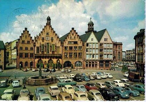 Römerberg, Frankfurt, Germany early and late1950s