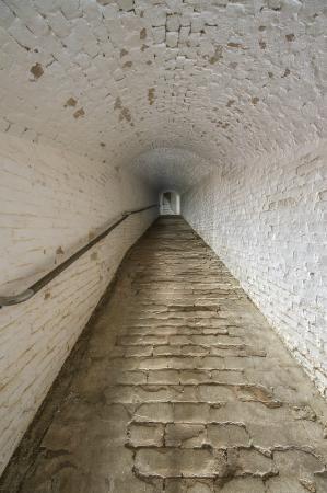 Pensacola, FL - Old tunnels - The Spanish hallway up Fort Barrancas