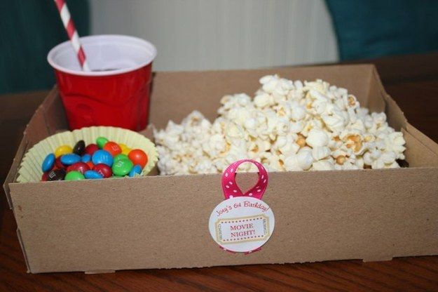 …Don't forget to provide personal lap trays! | 39 Slumber Party Ideas To Help You Throw The Best Sleepover Ever