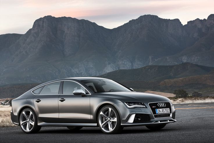 2014 AUDI RS7 sport back. When I have kids, I'm going to drive them around in the newest version of this. Ma's gonna have some SWAG. LOL