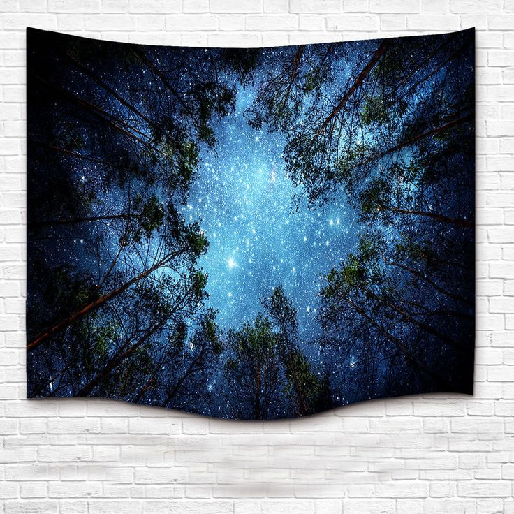 Starry Sky Mandala Tapestry Indian Wall Hanging Bohemian Hippie Dorm Decor