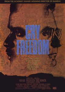 Cry Freedom, 1987: I was very excited to see the film, as it dealt with South Africa, which is a place I don't know much about. I have taken note of the emerging art scene from Johannesburg and Cape Town, so it impressive to see how much South Africa's infrastructure has improved since the film was made. I also loved learning about Biko and Woods, who are both brave, flawed men.