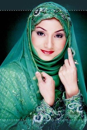 india green people hijab bridal hijab hijab fashion