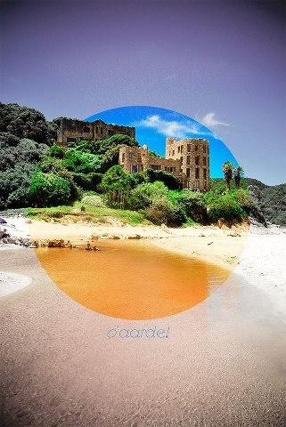 Noetzie (Knysna) - SAfrica's beach castle