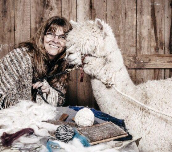 Un atelier sur la fibre. Feutrons, filons et tricotons la laine d'alpaga avec France Trudel. #tourismecreatif https://cotedusud.chaudiereappalaches.com/fr/saint-jean-port-joli-village-creatif/description/la-fibre/