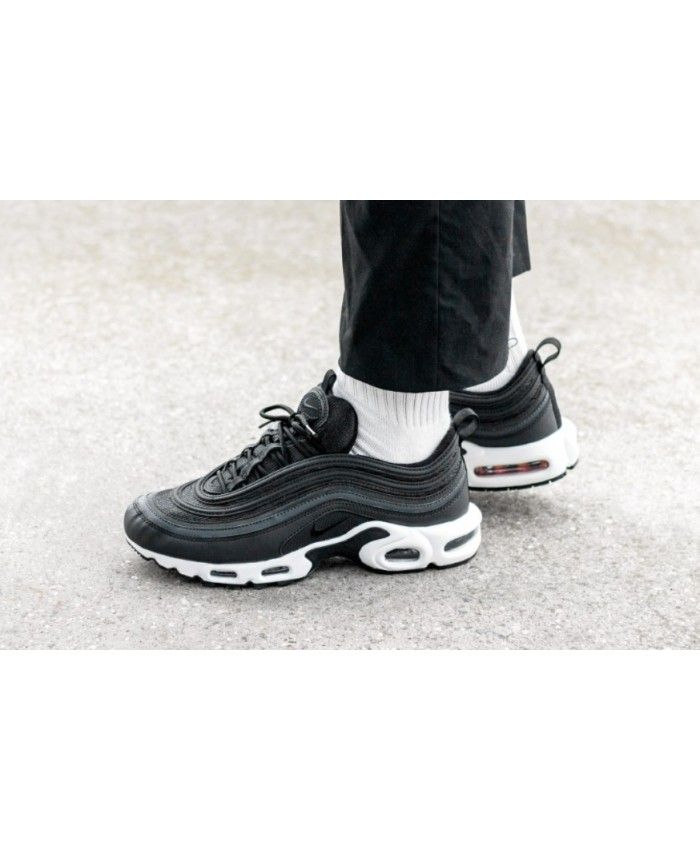 save off c1049 05672 Nike Black Friday Air Max Plus 97 Black White Tune Up | nike ...