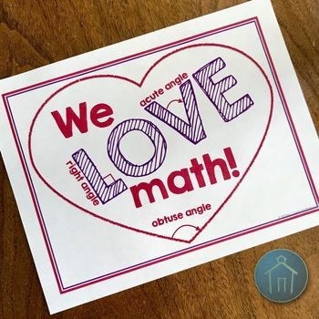 Angles Math Poster FREE