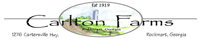 Carlton Farms  - Grass Fed Beef and Lamb, pasture raised pork, farm share subscriptions, raw milk, etc. Located in Rockmart, GA - delivery all over the metro Atlanta area.