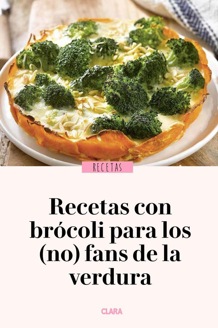 Con estas recetas incorporarás el brócoli a tu menú, ¡aunque no te guste! Lunch Recipes, Salad Recipes, Dinner Recipes, Dessert Recipes, Cooking Recipes, Healthy Recipes, Empanadas, Broccoli Fritters, Deli Food