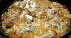 For example this dutch oven southwestern chicken is a hearty casserole with a great flavor. The family really enjoyed it and putting it together was super simple.
