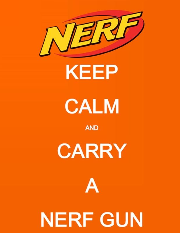 nerf party printables - Google Search
