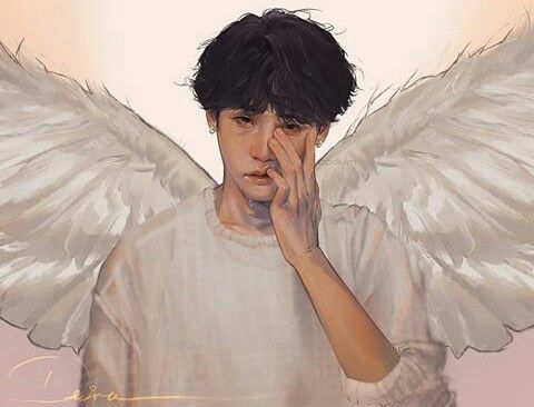 I feel extremely sad looking at this art of Yoongi  | BTS in