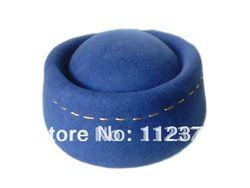 Goedkope Fedoras, koop rechtstreeks van Chinese leveranciers: Hoge kwaliteit blauwe wol vilten hoed, vrouwen sex materiaal: 100 % wol grootte: 56cm kleur: blauw Gewicht:80g   Duidelijke piture:notice 1. betalingEen