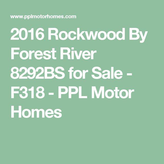 2016 Rockwood By Forest River 8292BS for Sale - F318 - PPL Motor Homes