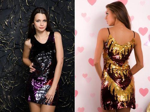 Молодежные клубные платье