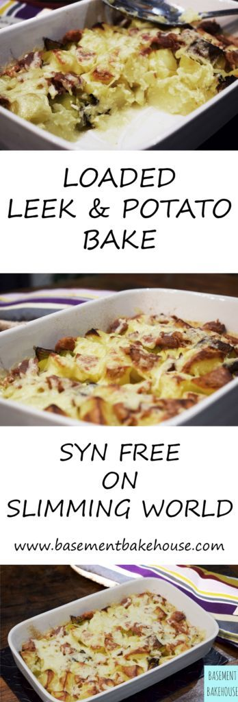 Syn Free Loaded Leek & Potato Bake - Slimming World Recipe