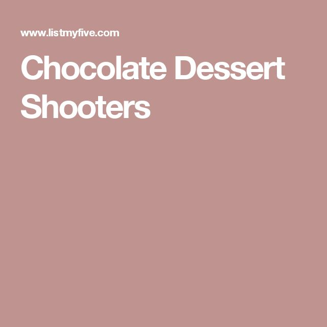 Best Dessert Places Twin Cities: 17 Best Ideas About Dessert Shooters On Pinterest