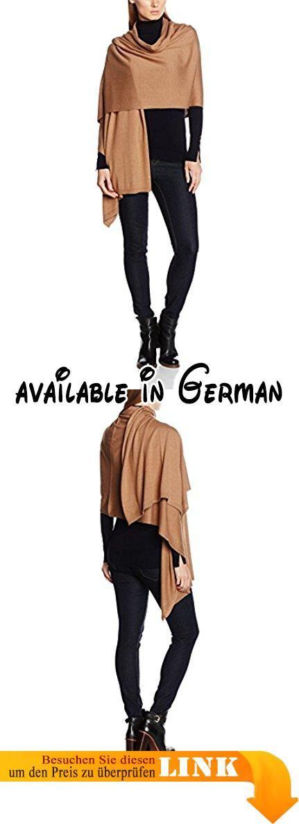 Blaumax Damen Poncho Khaleesi Braun (Vicuna 6190), One size (Herstellergröße: 0).  #Apparel #SWEATER