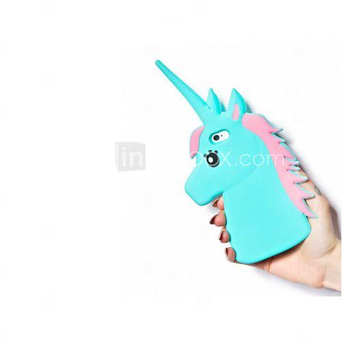 Pour Coque iPhone 5 Antichoc Coque Coque Arrière Coque Dessin Animé 3D Flexible Silicone pour Apple iPhone 6s/6 iPhone SE/5s/5 de 2017 ? €7.83