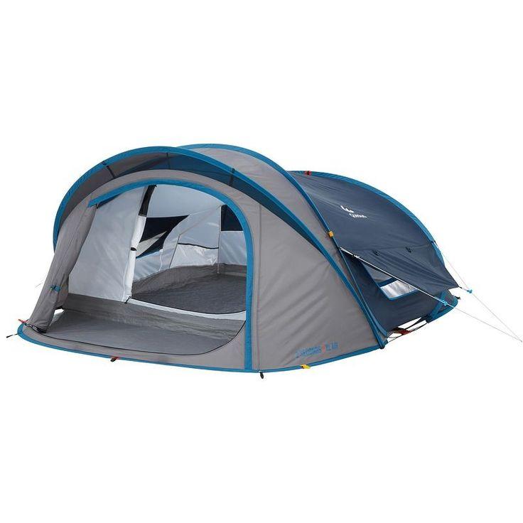 RANDONNEE Camp du randonneur Camping - 2 seconds xl air 3 bleu QUECHUA - Tentes